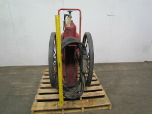 Ansul A 150 c Rubber Wheeled Foray Agent Abc Dry Chemical Fire Extinguisher