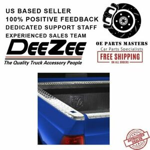 Dee Zee For Dodge Brite Tread Side Bed Wrap Caps With Stake Holes Dz31966