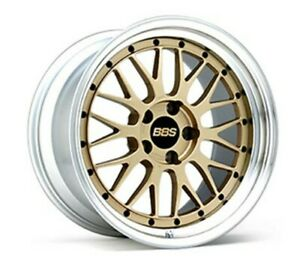Bbs Japan Lm 20x8 5j 9 0j Gold Lm425 lm426 Set Of 4 For Bmw 5er e39 From Japan
