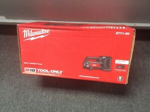 Milwaukee 2771 20 M18 18v Water Transfer Pump tool Only