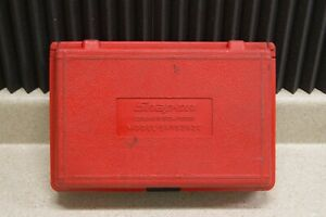 Snap on Cooling System Pressure Tester Svts262c With Case And Manual