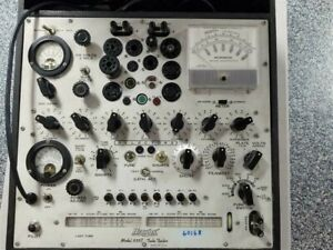 Hickok 539c Transconductance Tube Tester With Manuals