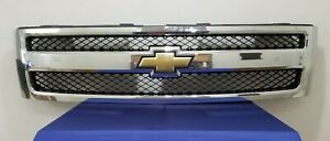 2007 2008 2009 2010 2011 Chevrolet Silverado 1500 Front Grille Oem Used D