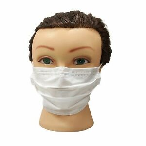 2000 Pcs 3 ply Layer Disposable Face Mask Dust Filter Safety Protection White