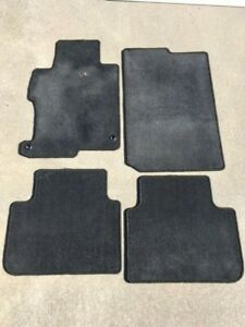 4 Oem Honda Accord Car Floor Mats Carpet Set Black Pp Sbr 2013 2017 2014 2015