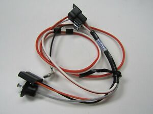 Chevelle El Camino 4 Speed Console Harness With Clock And Courtesy Light 1967
