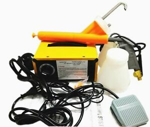 New Complete 10 30 Psi Powder Coating System paint Gun Pc04 5