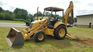 Ford New Holland 555e Tractor Loader Backhoe 3073 Hrs