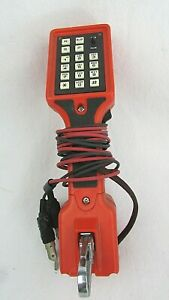 Harris Dracon M332 1 Lineman Phone Line Butt Pulse Touch Tone Telephone Tester