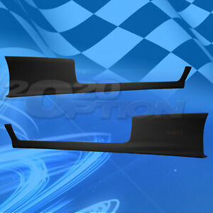 For 06 08 Honda Civic Coupe 2dr Hfp style Polyurethane Pu Side Skirt Spoiler