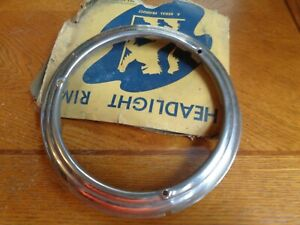 1947 1952 1942 1946 Chrysler Plymouth Dodge Ford Headligh Rim Nors 1948