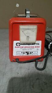Vintage Made In Usa Marquette 30 104 Battery Charger 6 12 Volt Free Ship