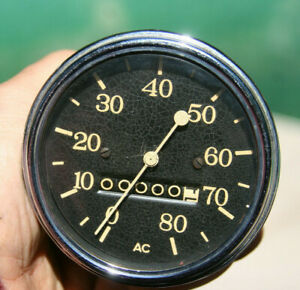 1946 Ac Gmc Vintage Electric 3 3 8 Tachometer Speedometer Perhaps Military