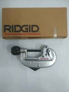 Ridgid 32930 Model 20 Screw Feed Tubing Cutter For 5 8 in To 2 1 8 in Tube