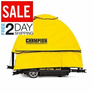 Champion Power Equipment 100603 Champion Portable Generator Cover Yellow Lawn