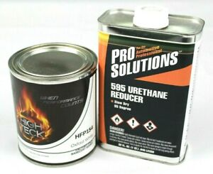 Oxford White Basecoat Paint Quart Slow Reducer Ford Yz Z1 Hfp154 High Teck