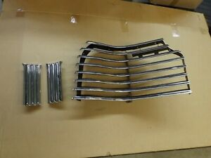 1941 Pontiac Grill Half With Ornaments Nos