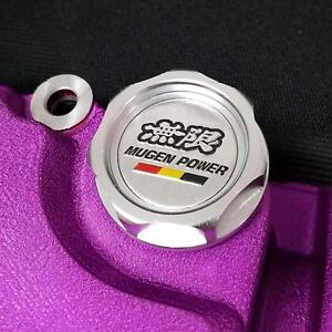 Jdm Silver Mugen Engine Oil Cap Honda Acura Integra Mdx Civic Accord Crx S2000
