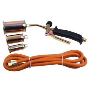 Portable Propane Torch Kit For Weed Burner melting Ice With 3 Nozzles 79 Hose