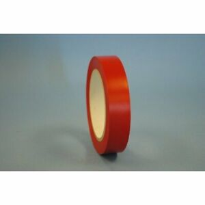1 4 X 36 Yd Red All Purpose Vinyl Tape case Of 144 Rolls