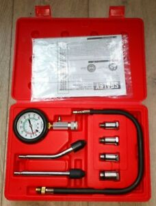 Sealey Petrol Engine Compression Testing Test Kit Tool 8pc