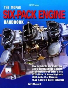 The Mopar Six Pack Engine Handbook Rebuild And Modify 440 6 Barrel 340 6 Barrel