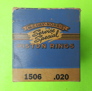 1934 35 1936 1937 1938 1939 1940 1941 Nors Plymouth Piston Rings 3 1 8 020 O s