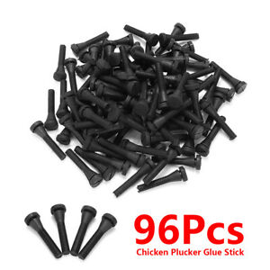 96pcs Chicken Plucker Picker Fingers Feather Removal Rubbers For Duck Goose Hen