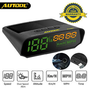 X100 Universal Car Gps Speedometer Hud Vehicle Head Up Display Speed Meter
