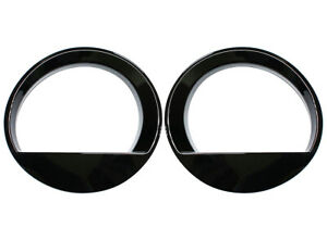 Black Angry Bird Style Front Lamp Headlight Cover Trim For Jeep Patriot 11 2017