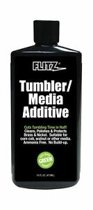 Flitz TA 04806-6A Tumbler Media Additive 16 oz. Bottle 6-Pack $170.43
