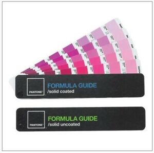 Pantone Formula Guide Set W Solid Coated Uncoated 4th Edition Free Ship