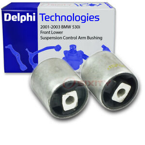 Delphi Front Lower Suspension Control Arm Bushing For 2001 2003 Bmw 530i Op