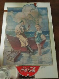 Coca Cola Mirror picture N.C. Wyeth 18