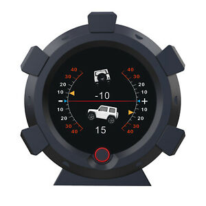 X95 Gps Speedometer Pitch Slope Meter Hud Inclinometer Mph Km Overspeed Alarm
