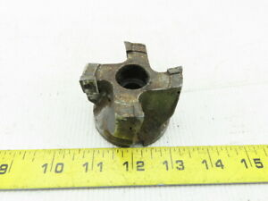 2 5 Indexable Face Mill 1 Arbor 4 Tool Insert