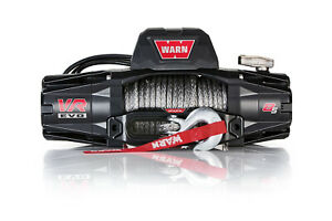 Warn Vr Evo 8 S Winch 8000 Synthetic Rope 103251