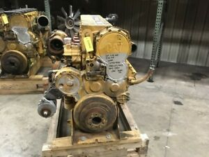 08 Cat C18 Industrial Diesel Engine 575 Hp All Complete And Run Tested