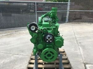 2017 John Deere 6068t Diesel Engine All Complete And Run Tested