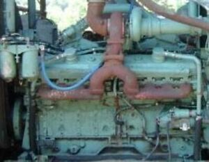 Detroit 16v92tt Industrial Diesel Engine 1800rpm All Complete And Run Tested