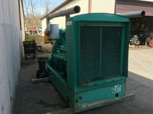 Detroit 12v71 225kw Generator 300hp All Complete And Run Tested