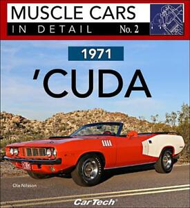1971 Plymouth Cuda Book Muscle Cars In Detail No 2 Barracuda New 2017