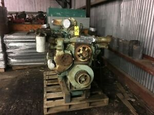 Detroit 16v71 Industrial Diesel Engine Non Turbo All Complete And Run Tested