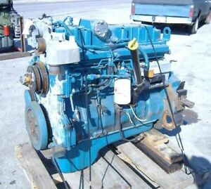 2005 International Dt 466e Diesel Engine 195hp All Complete And Run Tested
