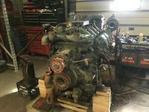 1999 Detroit Mtu s2000 Industrial Engine 605 650hp All Complete And Run Tested