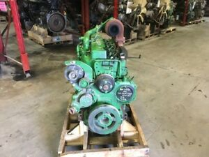 John Deere 6068t Diesel Engine 150hp All Complete And Run Tested