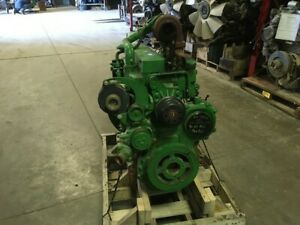 2002 John Deere 6068t Diesel Engine 150hp All Complete And Run Tested