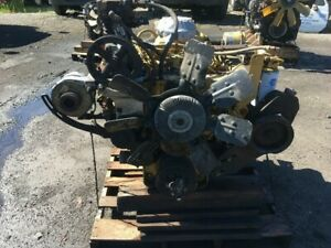 Cat 3208t Diesel Engine 225hp All Complete And Run Tested