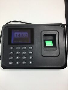 Check In Time Clock Fingerprint Biometric Password Attendance Machine Model A6