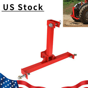 3 Point Cat 1 Drawbar Trailer Hitch Receiver Tractor Drawbar Heavy Duty